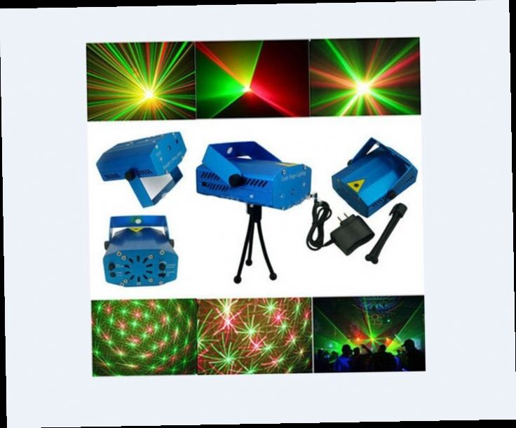 41.90$  Buy now - http://ali9gb.worldwells.pw/go.php?t=32480507014 - Laser Stage Light - Holiday Sale 150mW Mini Green&Red Laser DJ Party LED Laser Stage Lighting Dance Floor Lights