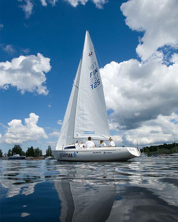 Segeln im Gewässer des Saimaa Sees #Saimaa #Finland Picture by: gosaimaa.com / Mikko Nikkinen