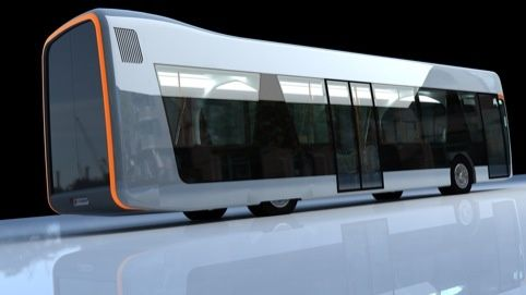 OSSA TECH #1 → the titanium, electricity-powered school ... Concept School Bus