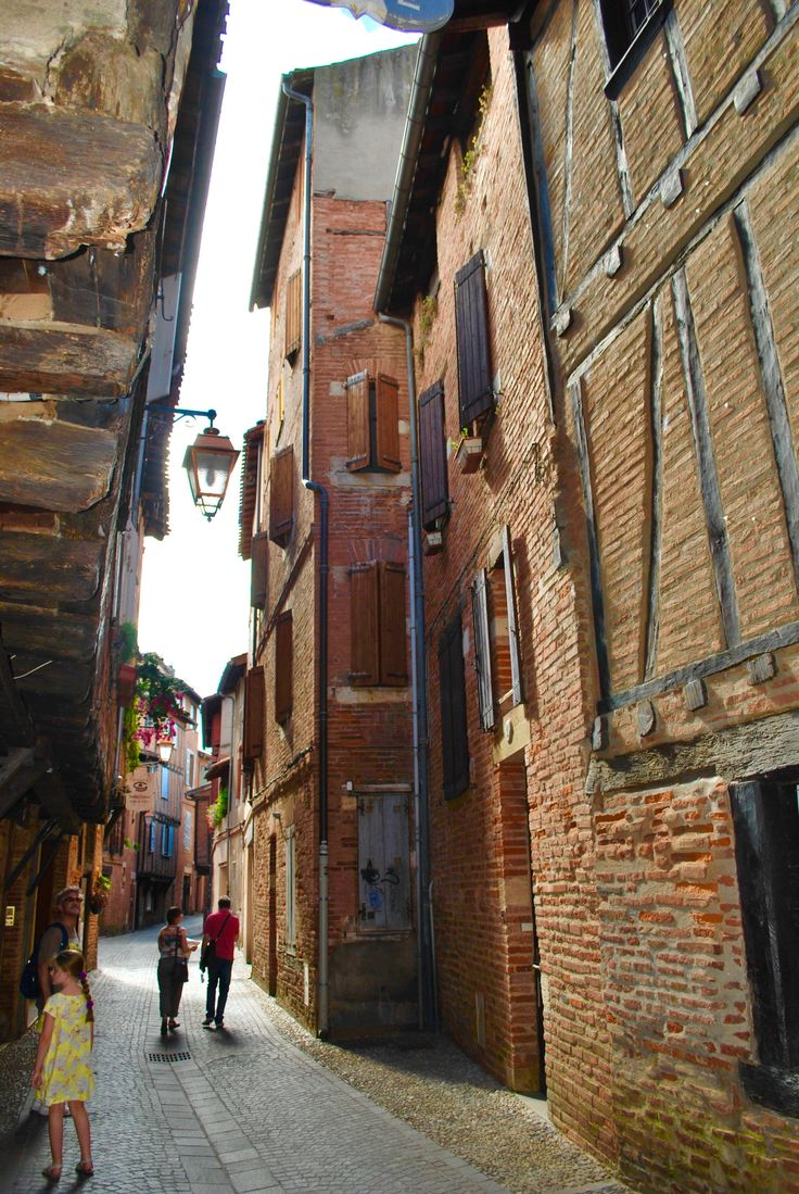 The streets of the old town