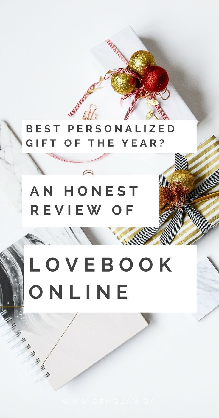 ebb38b58a647 Best Personalized Gift Of The Year  - An Honest Review of LoveBook Online  gift ideas