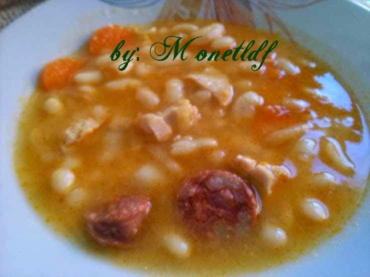 Les cosines de Monetldf.: ALUBIAS DAS con chorizo, dieta entulinea