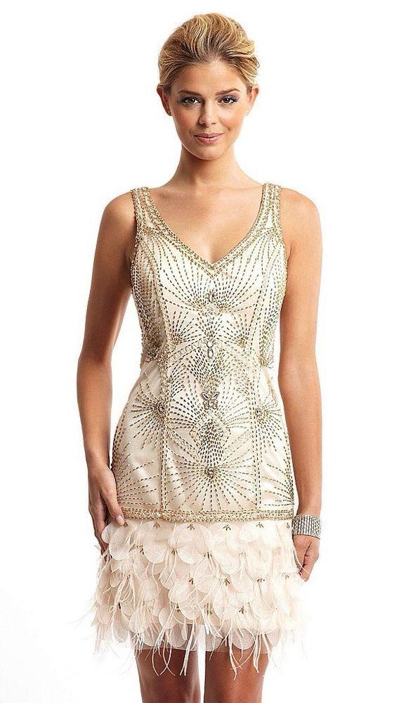 Similiar 1920s Feather Dress Keywords