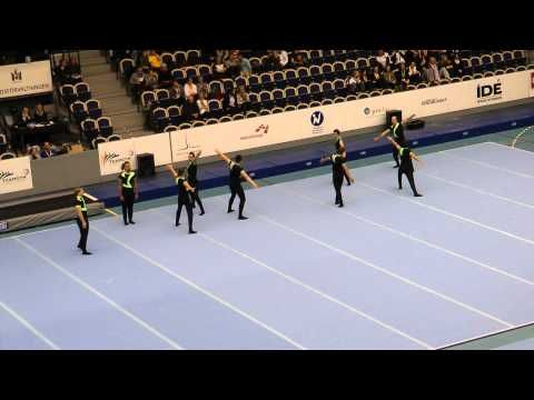 EM teamgym 2010 Czech republic Floor - YouTube