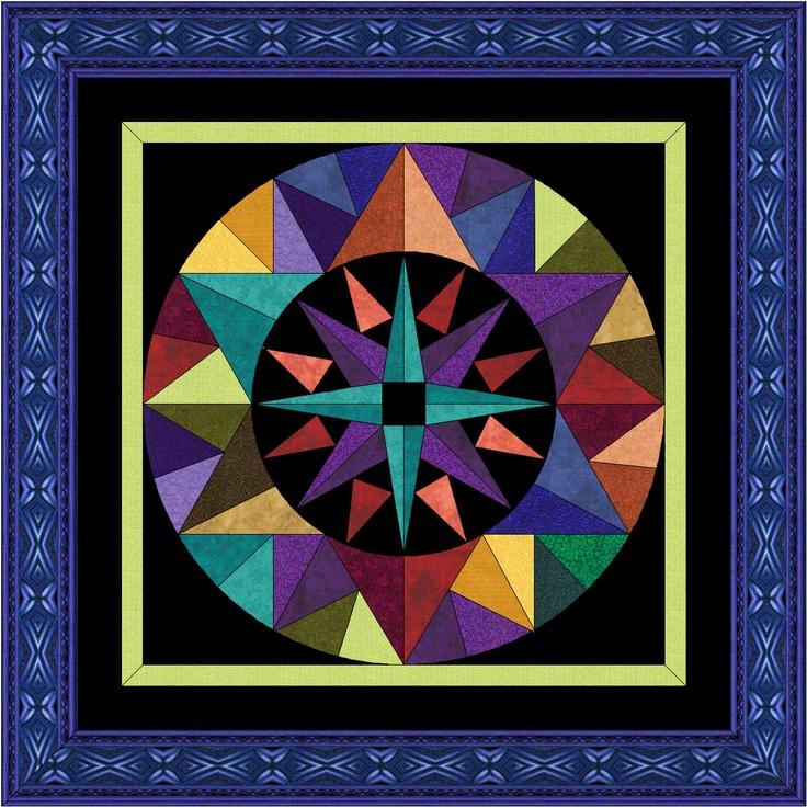 David s Star. plumcreekquilts.com Quilts - New York Beauties & Mariner s Compasses Pinterest ...