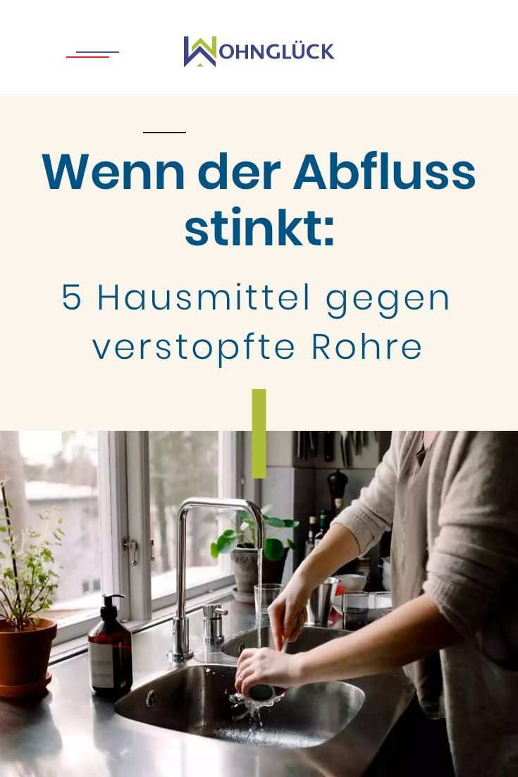 Mein Abfluss Stinkt Küche Wenn Der Abfluss Stinkt: 5 Hausmittel Gegen Verstopfte Rohre - #cleaningcars - Wenn Es Aus Dem Abfluss Rie… | Car Cleaning Hacks, Cleaning Hacks, Deep Cleaning Tips