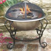 Found it at Wayfair - Stainless Steel Wood / Charcoal Fire Pit