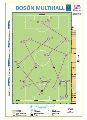 Brazil2014: how orienteers use a football field (soccer for US)