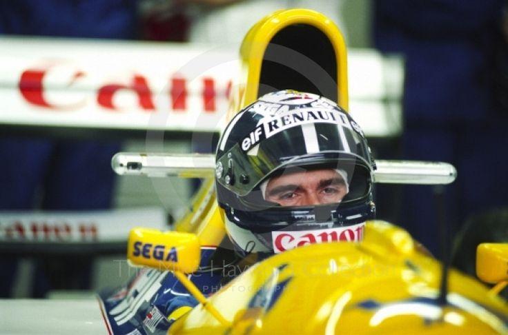 DAMON HILL #F1 #FormulaOne #GrandPrix #F1Champion #GrandPrix #GrandprixF1 #WilliamsF1 #RenaultWilliams #RenaultF1 http://www.snaplap.net/driver/damon-hill/