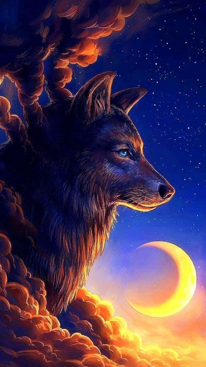 Pin On Wolf Wallpapers 2