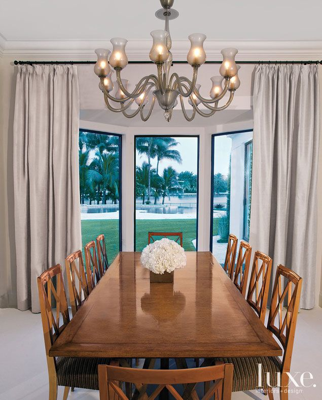 The Dining Room Has A More Traditional Look Inspired By