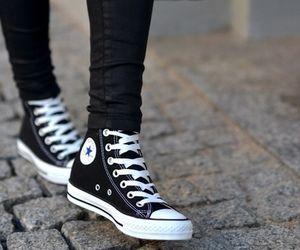 all black converse aesthetic