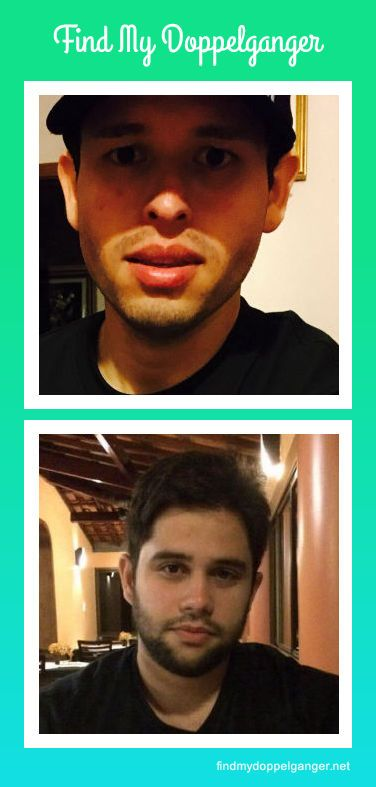 Look at these people who found their look-alike with Find My Doppelganger.