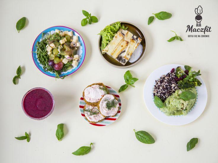 Smakowity dzień! #5dań #jedzenie #cooking #food #zdrowo #kolorowo #maczfit #dieta #kalorie #catering