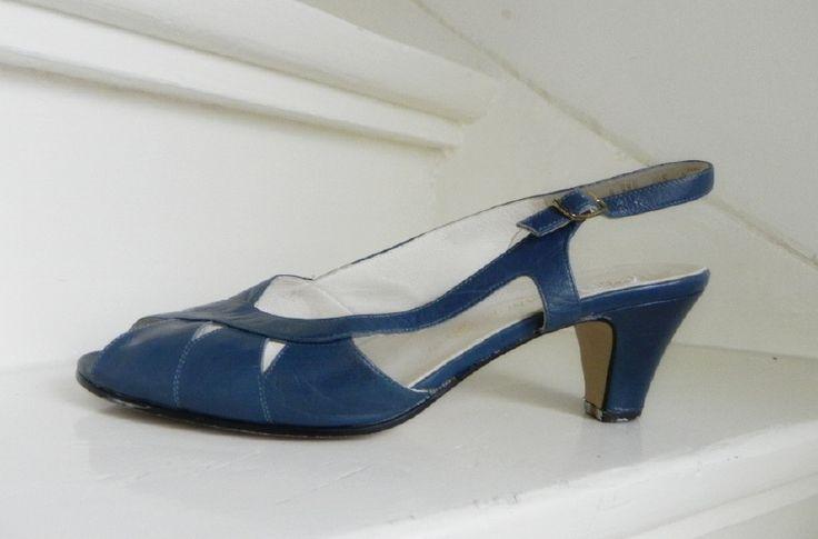 Ara Elegance peeptoe slingback pumps shoes (2012)