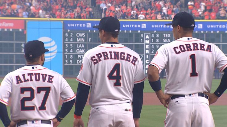 Altuve. Springer. Correa.  Houston Astros