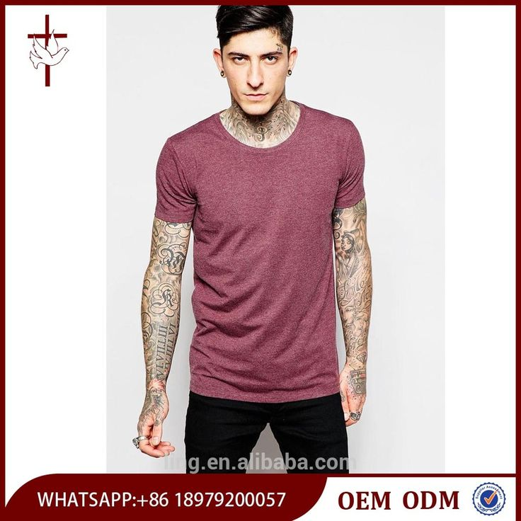 Gym Wear High Quality T Shirt Men Wholesale Bulk Blank T-shirts