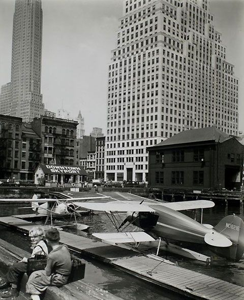 These photos by Berenice Abbott off the How To Be A Retronaut website paint a wonderful portrait of a vibrant, bustling, clean New York City in the mid to late 1930s.