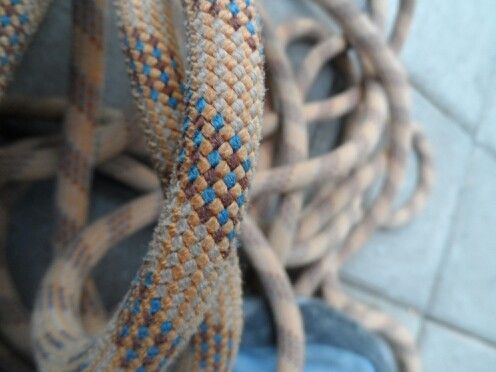 Climbing rope i love this pattern