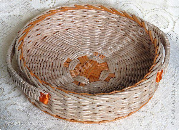Поделка изделие Плетение Июнь-июль Трубочки бумажные фото 9