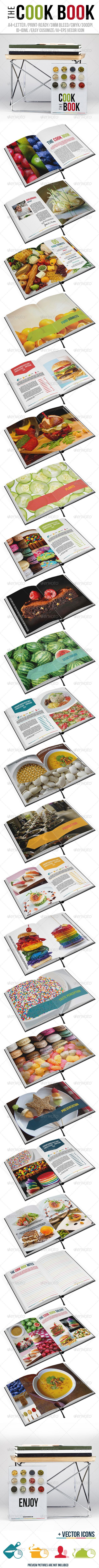 The Cook Book - Brochures Print Templates