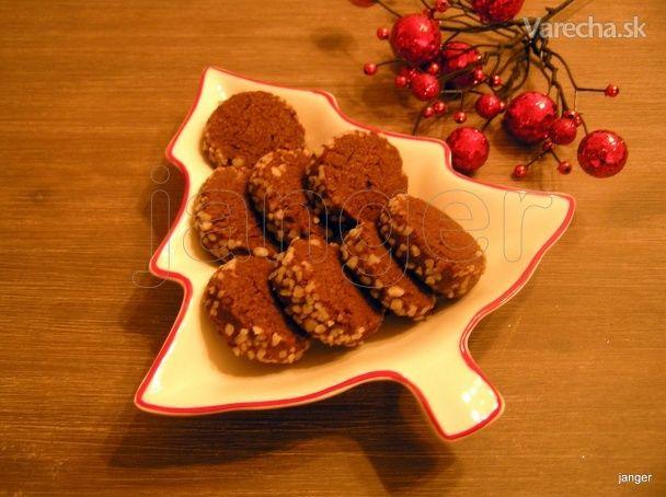 Jednoduché kakaové keksíky, Koekjes