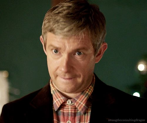 Martin Freeman - Someone his age has no right being that adorable.