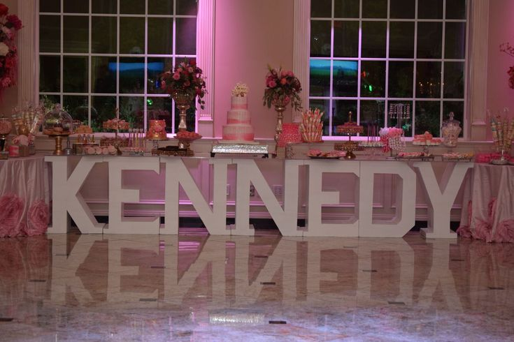 Kennedy Super Sweet Sixteen Room Decor Pretty In Pink