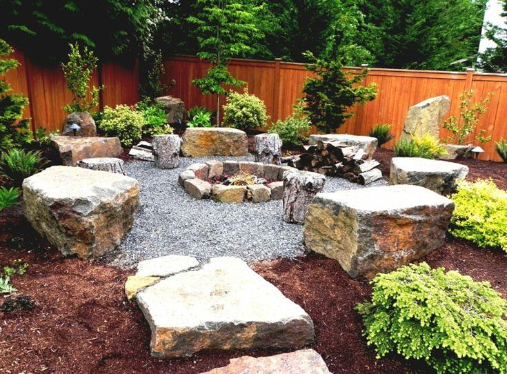 Die besten 25+ Gartengestaltung mit steinen Ideen auf Pinterest - ideen mit steinen