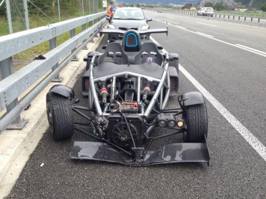 Verkehrsunfall in Erstfeld in Fahrtrichtung Süden auf der A2 › newsbloggers.ch