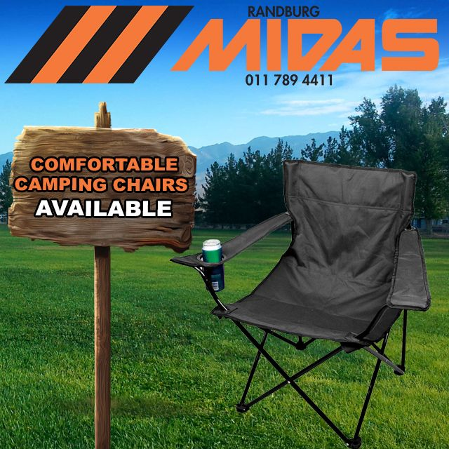 Make sure to get your #Camping chairs from us before you next trip http://bit.ly/1QY1MbJ #Randburg #Joburg