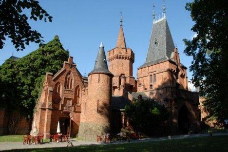 Hradec nad Moravici  Castle in Czech