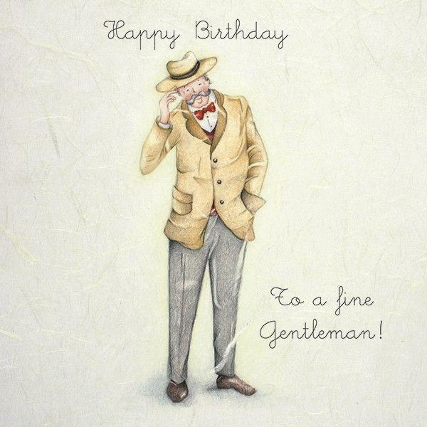 Cards » Gentleman » Gentleman - Berni Parker Designs