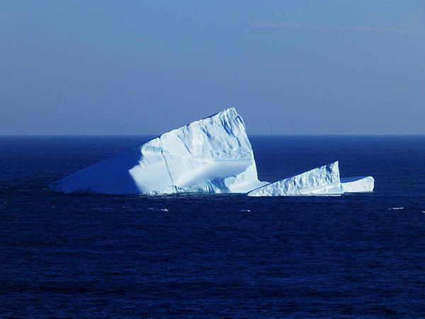 Iceberg at Cape Spear by Zinvolle - Photo taken at Cape Spear, Newfoundland, Canada.