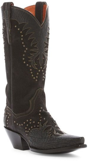 Dan Post Boot Company Invy Studded Western Boot