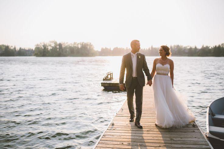 Adrienne + Jason // The Lake House // Calgary Restaurant Wedding