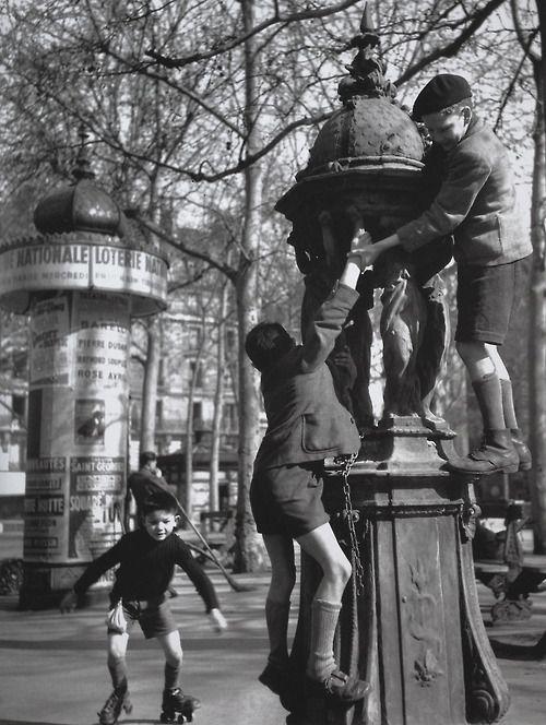 Fontaine : Robert Doisneau