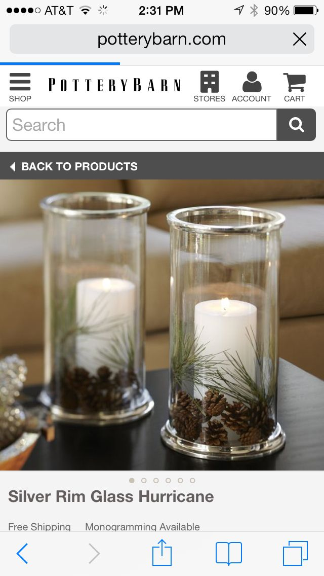 These look fabulous and easy to make, instead of paying the $60 pottey barn wants for them!