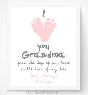 Perfect DIY Mother's Day gift for Grammie!