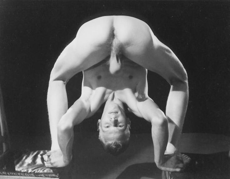 nude men yoga positions