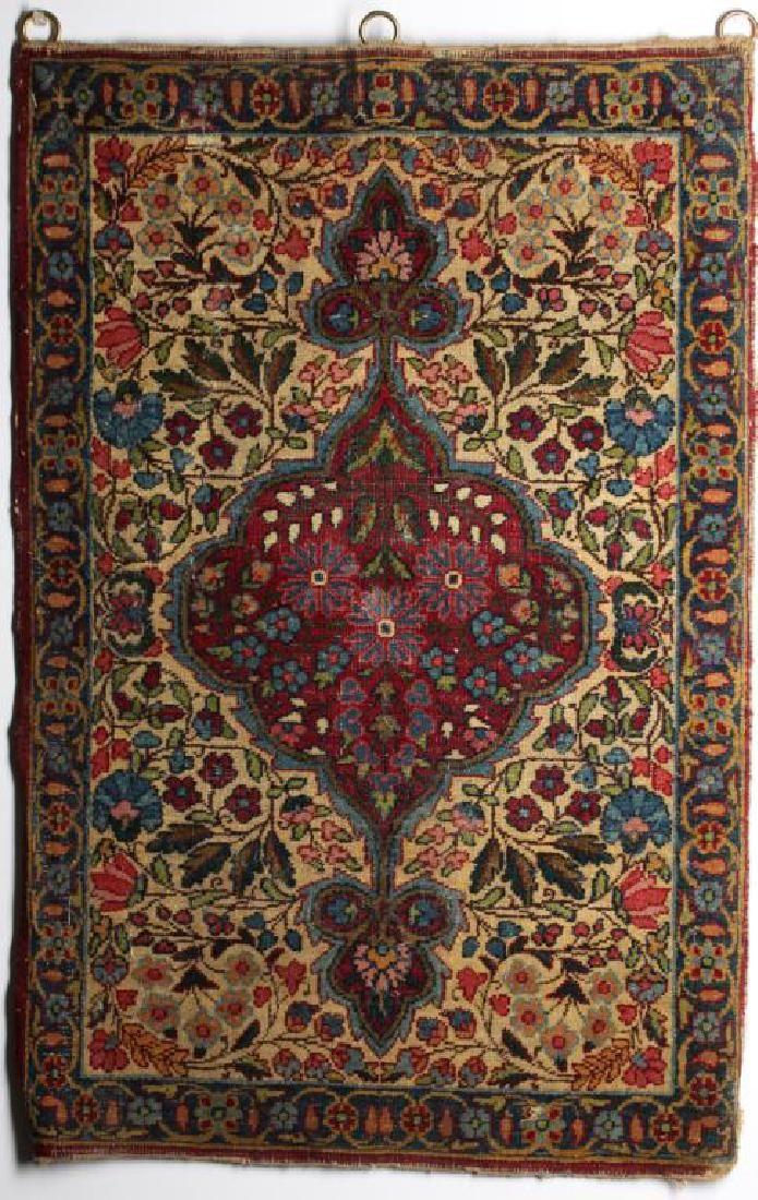 """Kashan Prayer Rug- 1'8"""" X 2'7"""""""