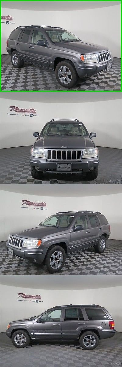 SUVs: 2004 Jeep Grand Cherokee Limited 4X4 V8 Hemi Suv Sunroof Heated Leather 164466 Miles 2004 Jeep Grand Cherokee Limited 4Wd Suv Financing Available -> BUY IT NOW ONLY: $6885.0 on eBay!