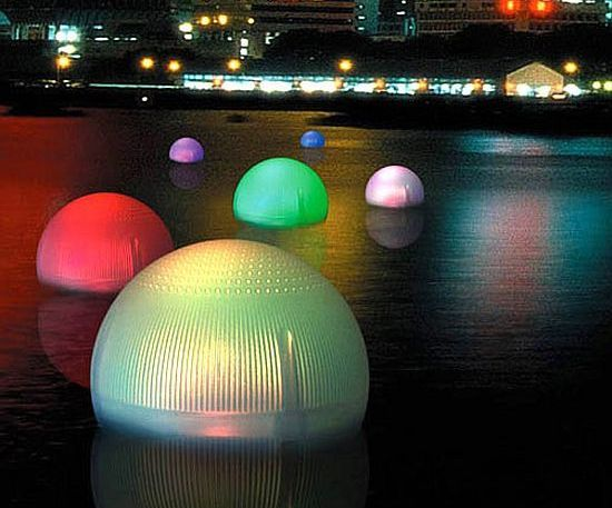 If You Have A Pool Or Backyard Pond These Floating Solar Powered Balls  Would Be A Great Conversation Piece.and Add Beauty To Your Yard.