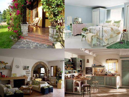 aarredamento country interior design : Arredamento country: Arredamento Country, Arredare Ides, Arredare Casa
