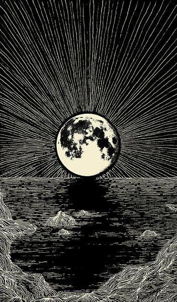 #Lune #Dessin