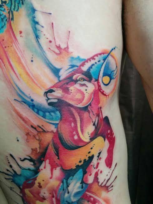Chronic Ink Tattoo - Toronto Tattoo Close-up shot of a ...