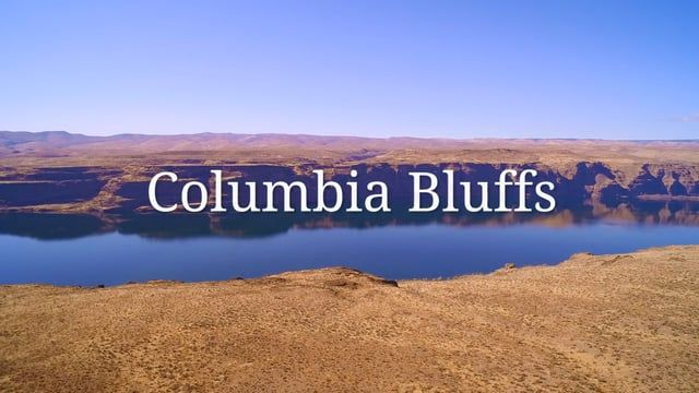 Drone Imaging of Scenic 171.8-acre upland building site overlooking the Columbia River Gorge. Impressive Grant County location. 80 miles of river and territorial views. Approved and permitted. http://columbiabluffs.com/