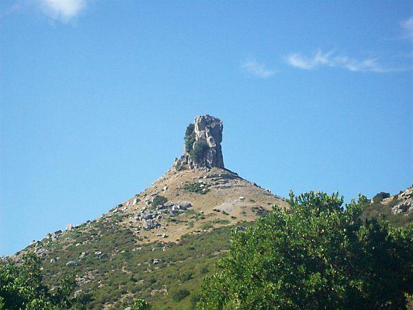 Strange rock in Sardinia #Italy #photo
