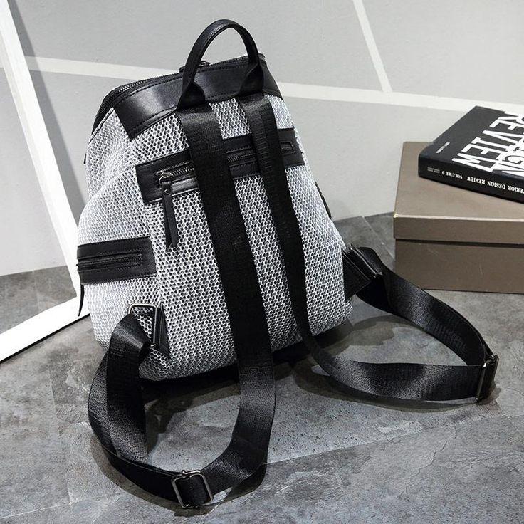 Women's Nylon Casual Backpack For School | Travel
