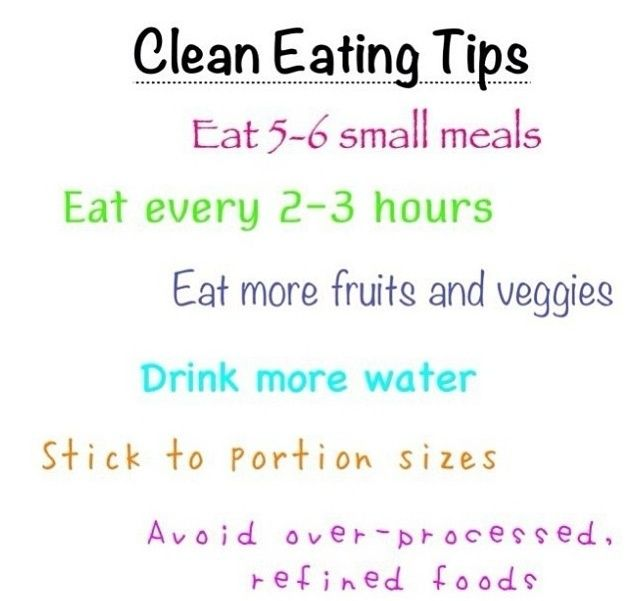 Clean eating tips to follow!